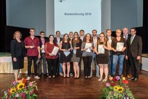 Bestenehrung IHK Lübeck 2018